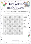 The Midnight Gang Wordsearch