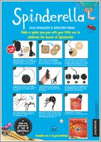 Spinderella Make a Spider Pom Pom