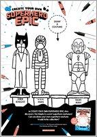 Create Your Own Superhero Epic Activity Sheet 3
