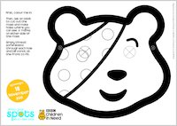 Make Your Own Pudsey Mask