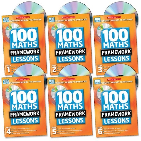 100 Maths Framework Lessons Complete Pack