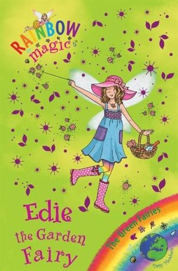 rainbow magic green fairies edie the garden fairy scholastic kids 39 club. Black Bedroom Furniture Sets. Home Design Ideas