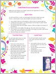 Create flowers for your Secret Garden - Free Downloadable (1 page)