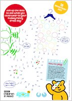 BBC Children in Need Dot-to-dot Activity