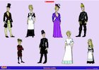 Victorian outfits