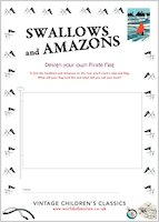 Swallows and Amazons Design a Pirate Flag