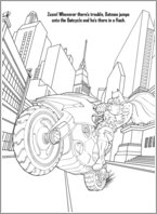Batman Colouring Activity 2