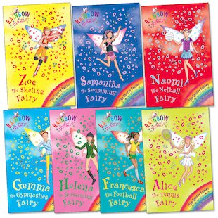 Rainbow Magic: Sporty Fairies Pack