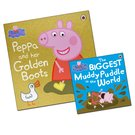 Peppa and her Golden Boots (with free mini-book)