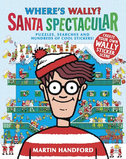 picture regarding Where's Waldo Pictures Printable identified as Wheres Wally? Santa Outstanding - Scholastic Little ones Club