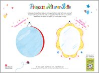 Princess Mirror-Belle Drawing Activity