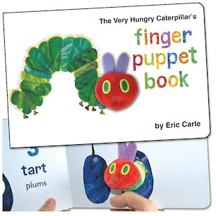 The Very Hungry Caterpillar: Finger Puppet Book