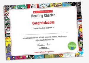 Certificate reading charter 1555976