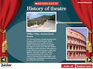 History of theatre – interactive timeline