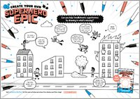 Activity Sheet for Create Your Own Superhero Epic