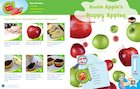 Letterland recipe card: Annie Apple's Happy Apples