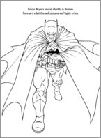 Batman Colouring Activity 1