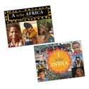 A is for Africa and I is for India Pair