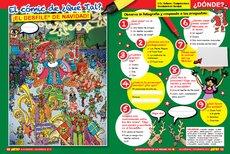 ¡El desfile de Navidad!
