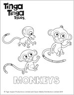 Fun stuff drawing and colouring in scholastic kids 39 club for Tinga tinga coloring pages
