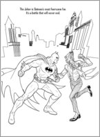 Batman Colouring Activity 4