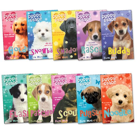 Puppy Place Pack X 10 Scholastic Kids Club