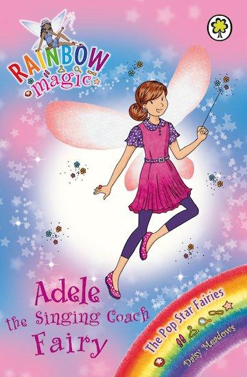 rainbow magic pop star fairies adele the singing coach fairy scholastic kids 39 club. Black Bedroom Furniture Sets. Home Design Ideas