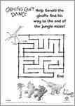 Giraffes Can't Dance maze