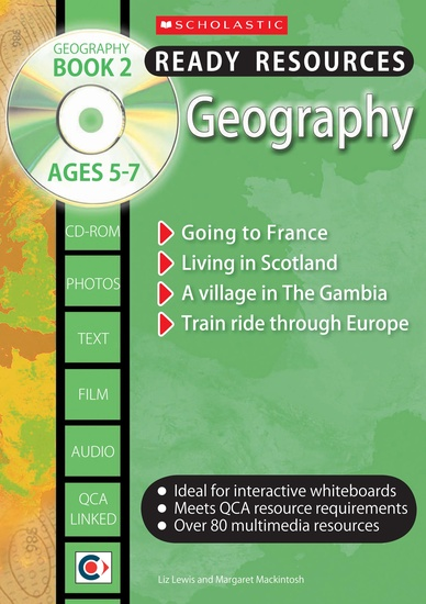 Geography Book 2 and CD-ROM