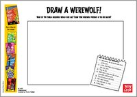 There's a Werewolf in My Tent! - Draw a Werewolf!