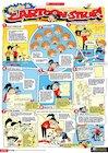 Create a cartoon strip! poster