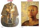 Tutankhamun death mask – poster