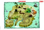 Treasure Island Map - poster (1 page)