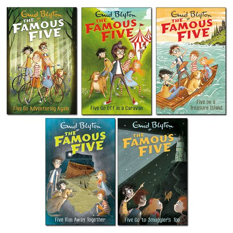 The Famous Five Pack x 5