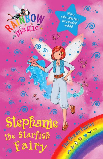 rainbow magic ocean fairies 89 stephanie the starfish fairy scholastic kids 39 club. Black Bedroom Furniture Sets. Home Design Ideas
