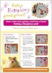 Make a Humphrey Greeting Card