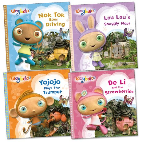 Waybuloo Story Pack Scholastic Kids Club