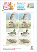 Little Beaver and Echo - Game of pairs