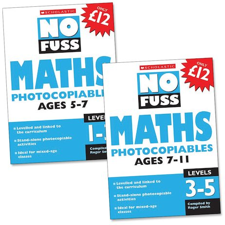 No Fuss: Maths Complete Set