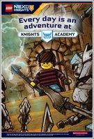Nexo Knights Forbidden Power Postcard 5