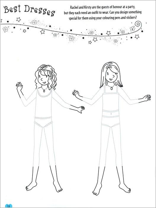 rainbow magic activity 1 fairy sticker activity scholastic shop. Black Bedroom Furniture Sets. Home Design Ideas