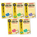 National Curriculum Revision: English Revision Guides Years 2-6 Set (5 books)