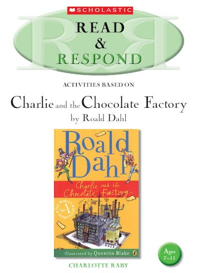 Read And Respond Charlie And The Chocolate Factory