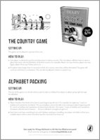 Diary of a Wimpy Kid: The Long Haul - The Country Game and Alphabet Packing