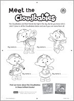 Cloudbabies Colouring