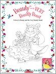 Beauty and the Very Beastly Beast Colouring Activity
