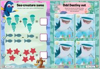 Finding Dory Puzzle Sheet 5