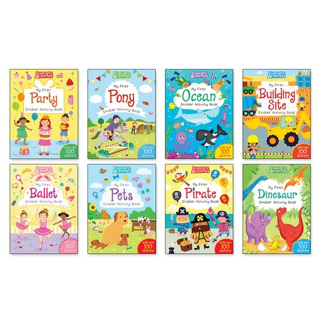 Scholastic My First Activities Pack x 8