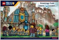 Nexo Knights Forbidden Power Postcard 1
