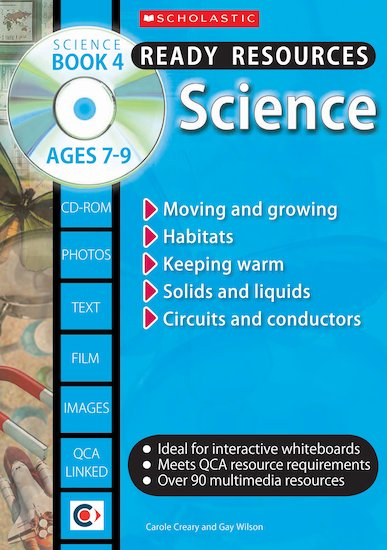 Science Book 4 and CD-ROM